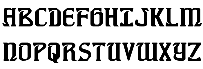 Fiddler's Cove Expanded Font UPPERCASE