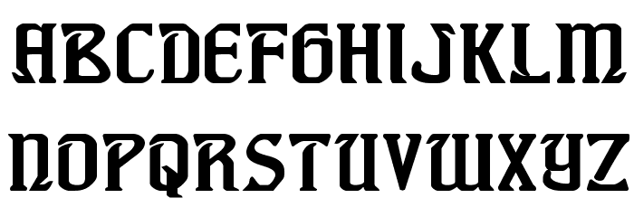 Fiddler's Cove Expanded Font LOWERCASE