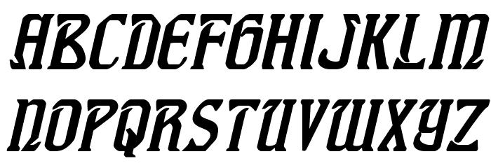 Fiddler's Cove Italic Font LOWERCASE