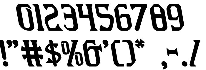 Fiddler's Cove Leftalic Font OTHER CHARS