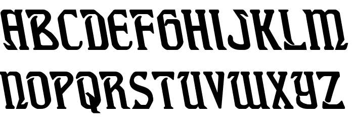 Fiddler's Cove Leftalic Font LOWERCASE