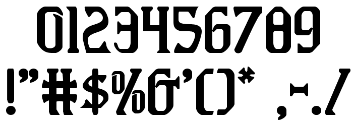 Fiddler's Cove Regular Font OTHER CHARS