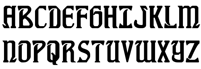 Fiddler's Cove Regular Font UPPERCASE