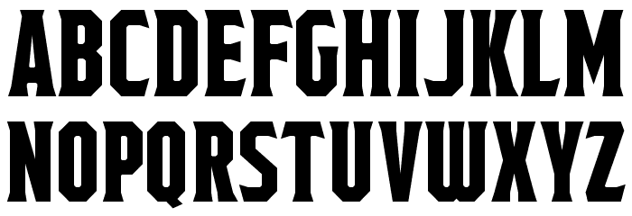 Fields of Cathay Regular Font UPPERCASE