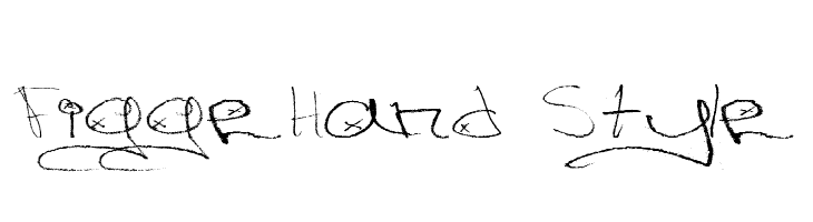Figge Hand Style  baixar fontes gratis