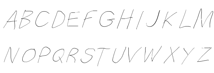 Filament Serie Three-Seven Font UPPERCASE