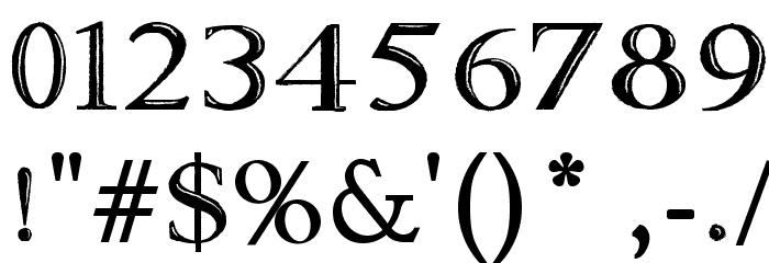 Fine Blackboard Font OTHER CHARS