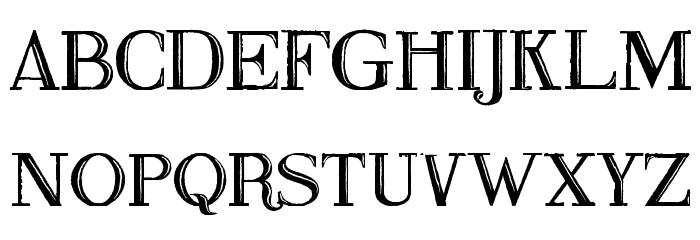 Fine Blackboard Font UPPERCASE