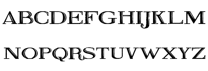 Fine Blackboard Font LOWERCASE