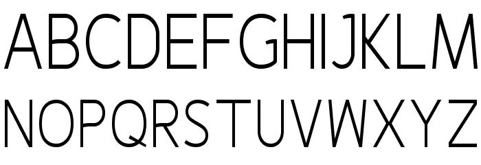 Fineness Pro Light Cond फ़ॉन्ट अपरकेस