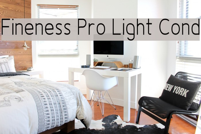 Fineness Pro Light Cond Fuentes examples