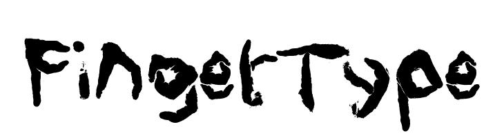 FingerType  font caratteri gratis