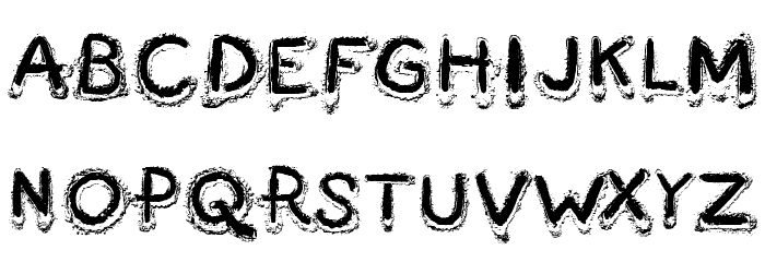 Fingermade Font LOWERCASE