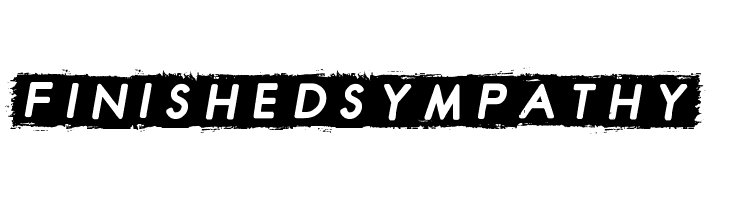 Finished Sympathy  Free Fonts Download