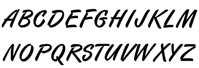 Finition PERSONAL USE ONLY Font UPPERCASE