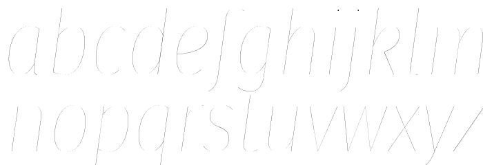 Fira Sans Condensed Two Italic Polices MINUSCULES