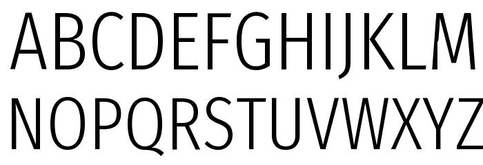 Fira Sans Extra Condensed Light फ़ॉन्ट अपरकेस