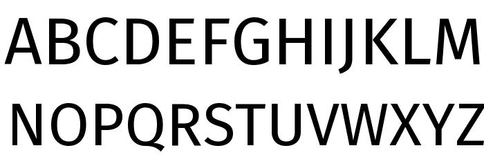 Fira Sans Font UPPERCASE