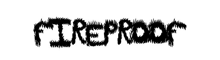 FireProof  baixar fontes gratis