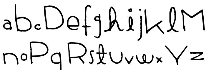 Firefly Castle Font LOWERCASE