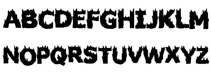 Firestarter Font Litere mari