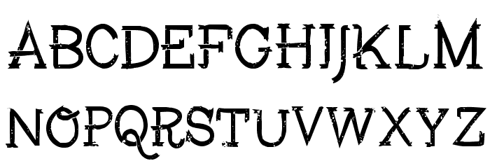 Fisher Font UPPERCASE