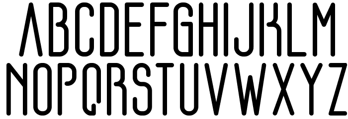 FLOGREEN 字体 大写