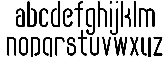 FLOGREEN 字体 小写