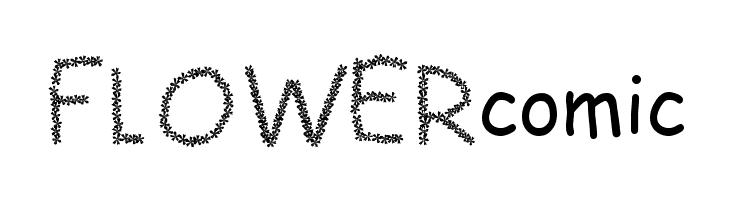 FLOWERcomic  नि: शुल्क फ़ॉन्ट्स डाउनलोड