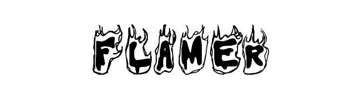 Flamer  Free Fonts Download