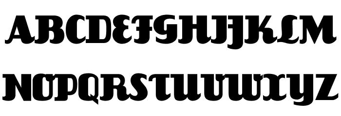 FlandersRide Font UPPERCASE