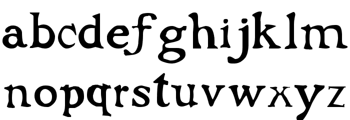 Flibustier Thin Шрифта строчной