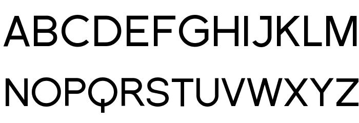 Florencesans Font UPPERCASE