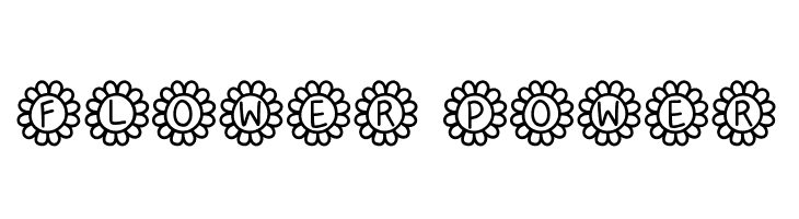 Flower Power  Free Fonts Download
