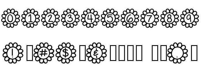 Flower Power Fonte OUTROS PERSONAGENS