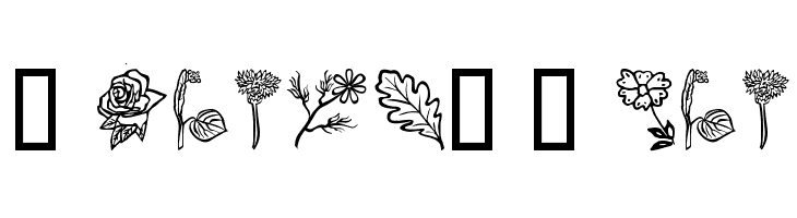 Flower-Show  Free Fonts Download