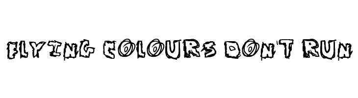 Flying Colours Don't Run  baixar fontes gratis