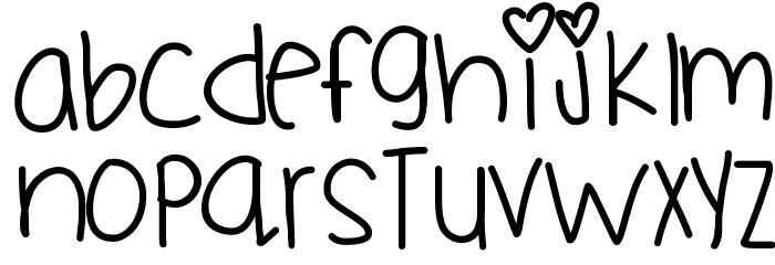 Flyknit Font UPPERCASE