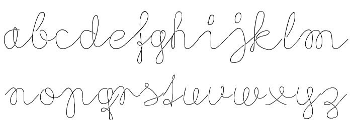 Flypflop Font Litere mici