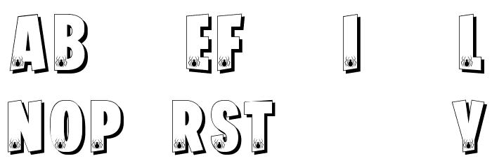 FORTNITE BATTLEFEST Schriftart Kleinbuchstaben