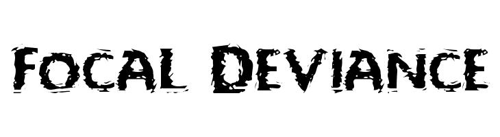 Focal Deviance Font