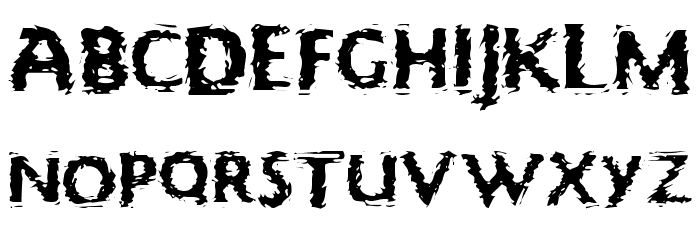 Focal Deviance Font LOWERCASE