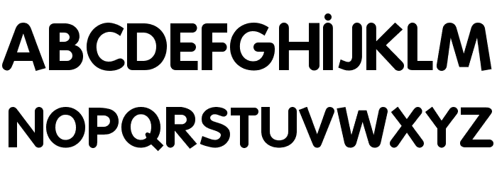 Folks-Bold Font UPPERCASE