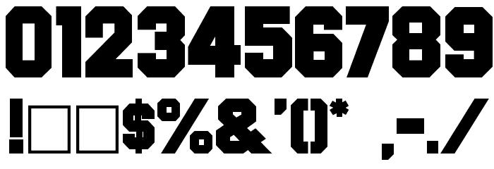 Font Font OTHER CHARS