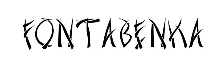 Fontabenka  Free Fonts Download