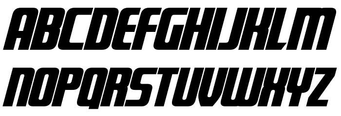 Fontana Bold Italic Font Litere mari