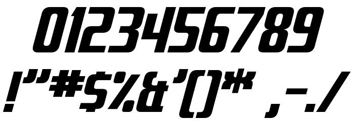 Fontana Italic Font Alte caractere