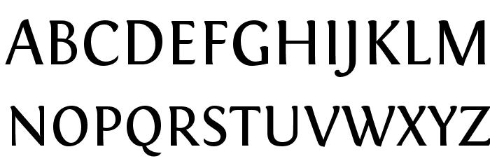 Fontin Regular Font Litere mari