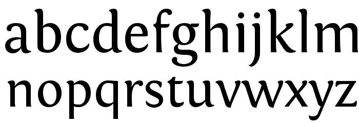 Fontin Regular Font Litere mici