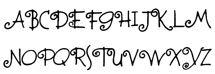 Fontmoochers Font UPPERCASE